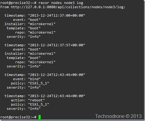 node log