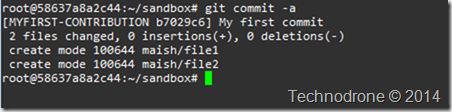 commit result