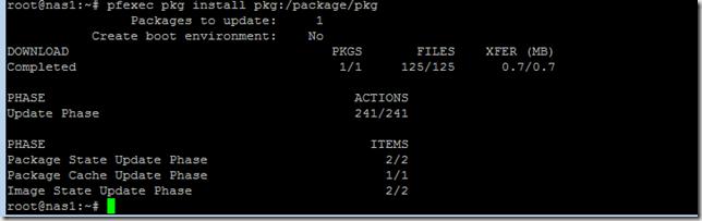 Update pkg package