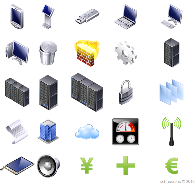 The Unofficial VMware Visio Stencils | Technodrone