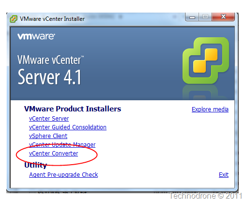 vCenter 4.1 Install