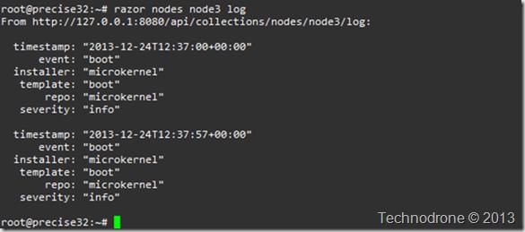razor node log