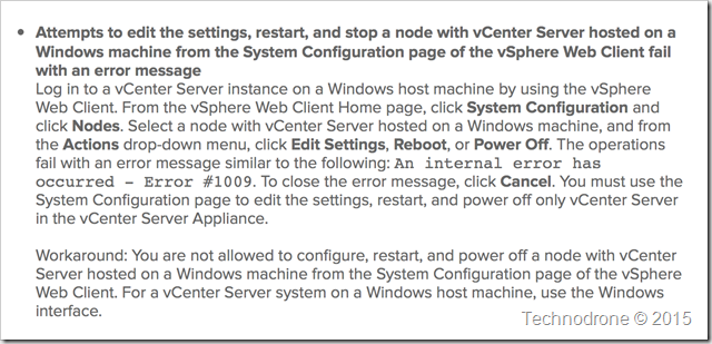 protected vCenter