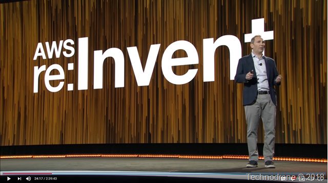 Andy Jassy - re:invent 2017 keynote
