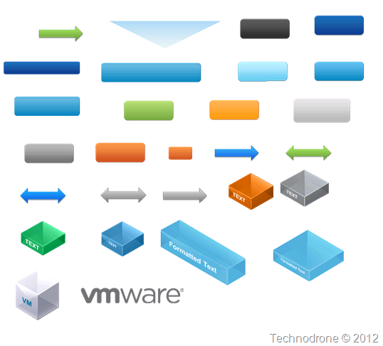 The unofficial vmware visio stencils technodrone shapes and assets ccuart Choice Image