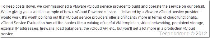 vCloud Service